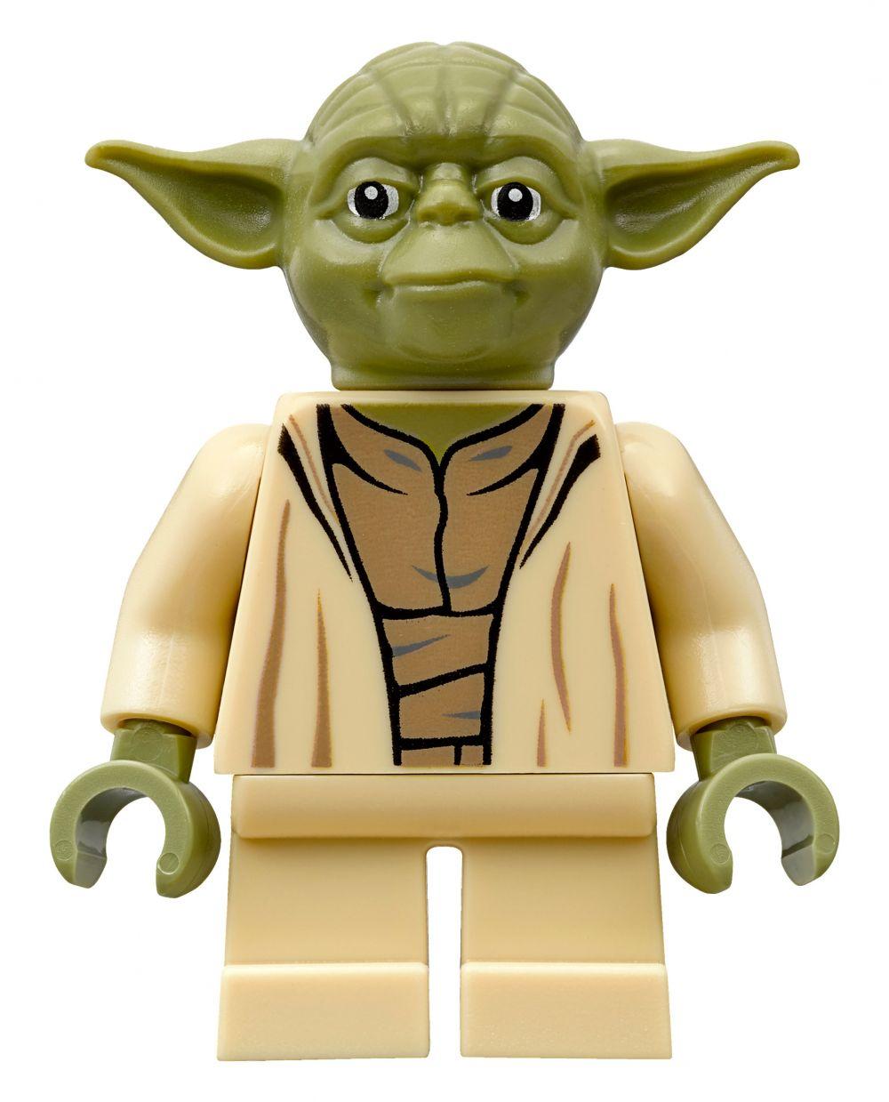 Lego star wars 75168 pas cher yoda 39 s jedi starfighter - Maitre yoda lego ...