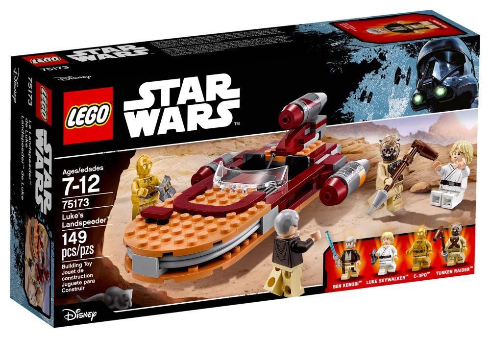 LEGO Star Wars 75173 pas cher - Luke's Landspeeder