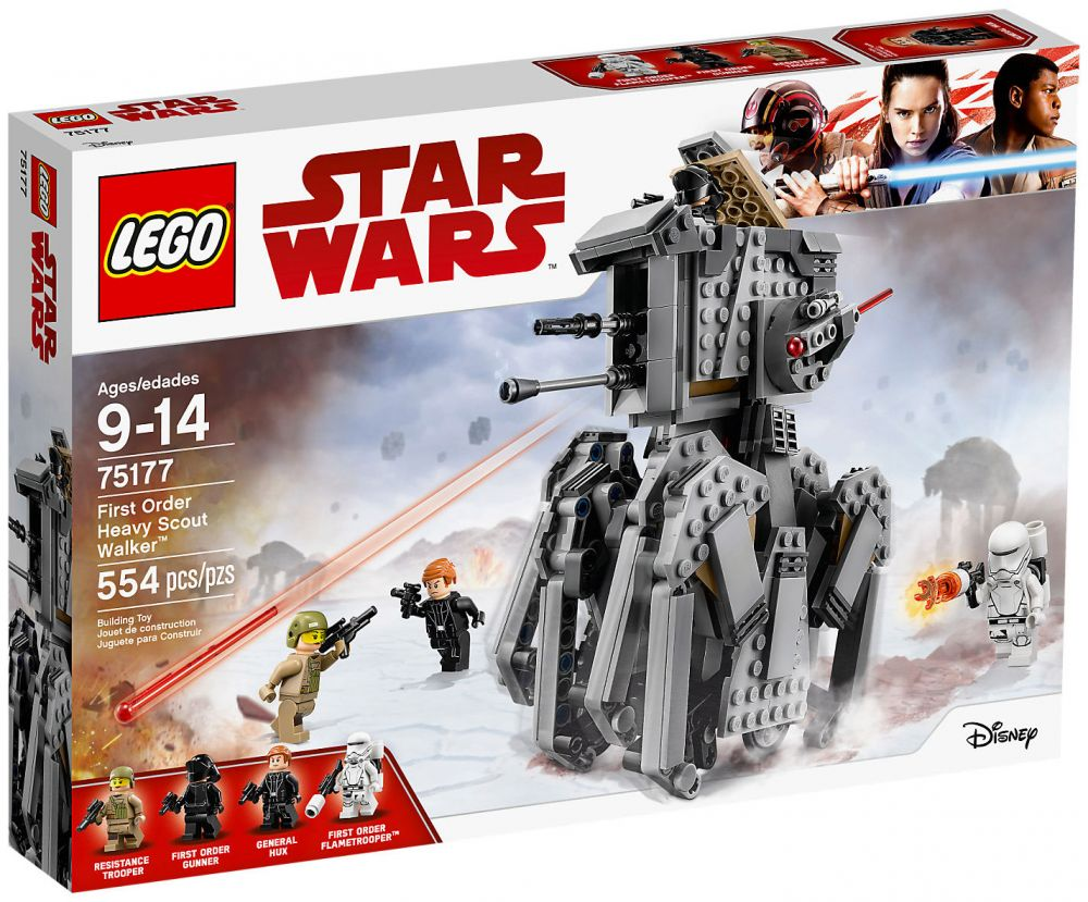 Lego Heavy Star Order First Wars Walker 75177 Scout MGqzLVUSp