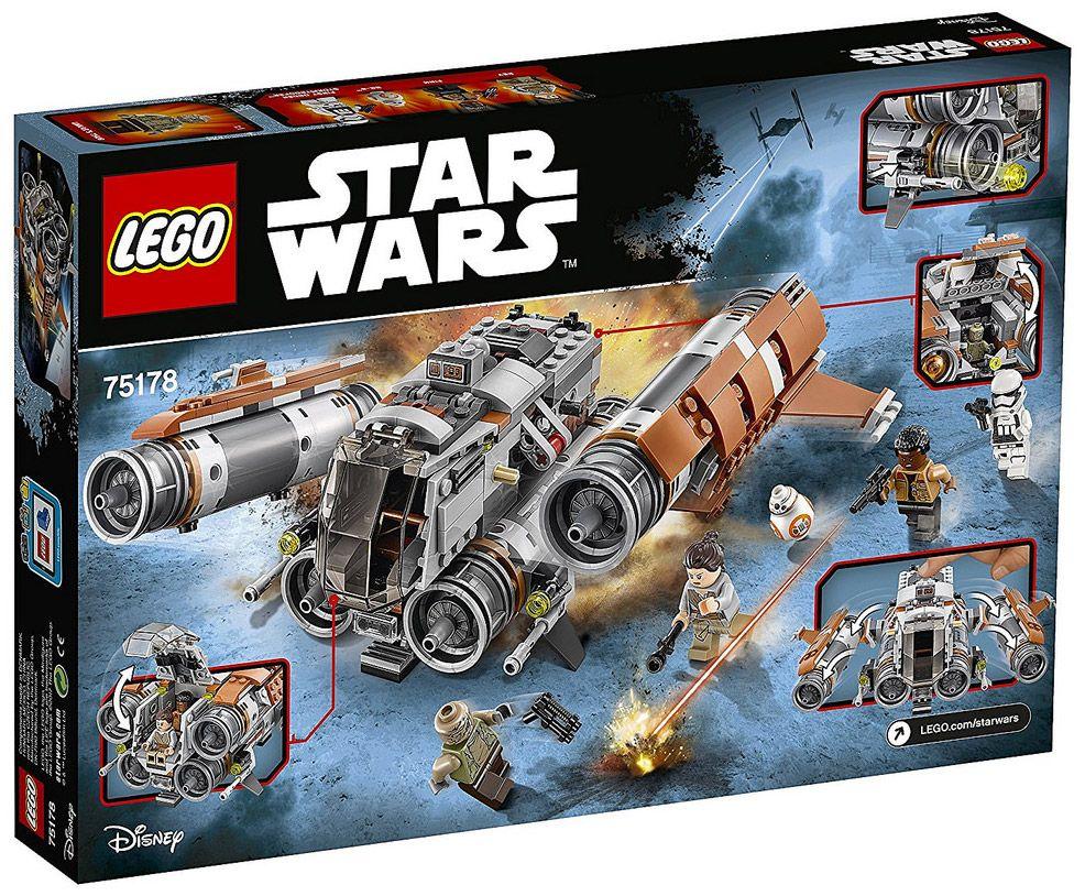 Lego star wars 75178 pas cher le quadjumper de jakku - Croiseur interstellaire star wars lego ...