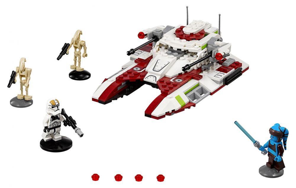 lego star wars 75182 pas cher republic fighter tank. Black Bedroom Furniture Sets. Home Design Ideas