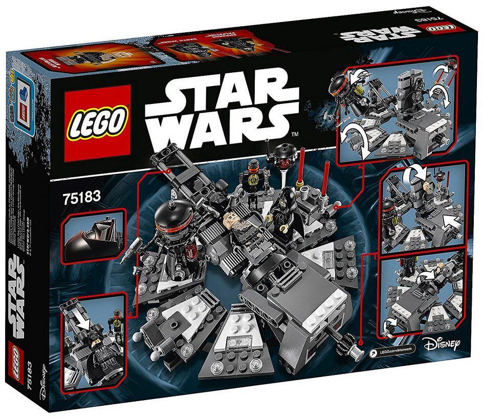 Lego star wars 75183 pas cher la transformation de dark - Lego star wars avec dark vador ...