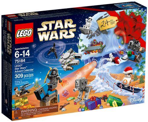 Lego L'avent 75184 Détails Neufnew De Sur Advent Star Wars Calendrier Calendar xerdCBoW