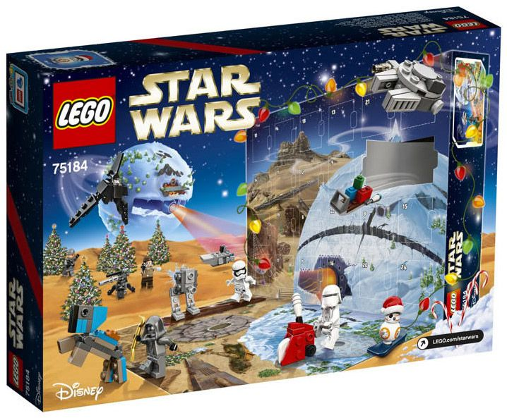 lego star wars 75184 pas cher calendrier de l 39 avent lego. Black Bedroom Furniture Sets. Home Design Ideas