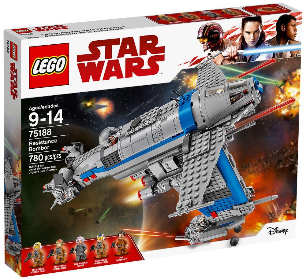 lego star wars 75188 pas cher resistance bomber. Black Bedroom Furniture Sets. Home Design Ideas