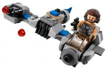 LEGO Star Wars 75195 Microfighter Ski Speeder vs. Quadripode du Premier Ordre