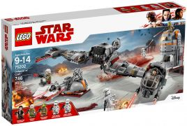 LEGO Star Wars 75202 Défense de Crait