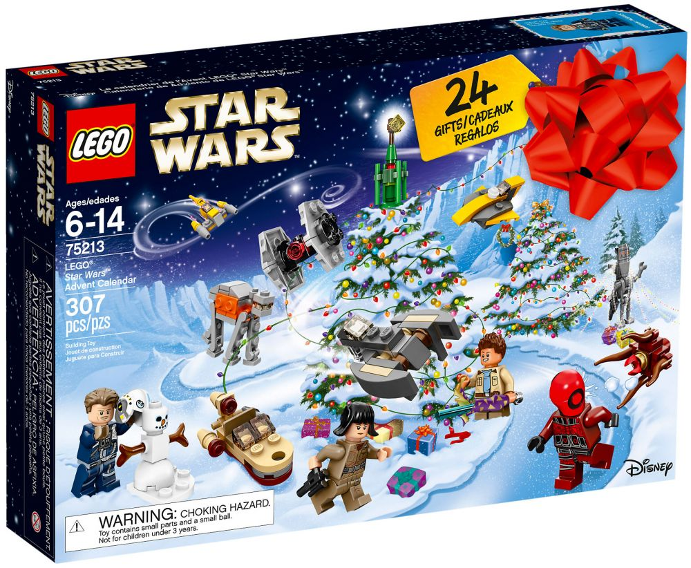 Calendrier De L Avent Mode.Lego Star Wars 75213 Calendrier De L Avent Lego Star Wars 2018
