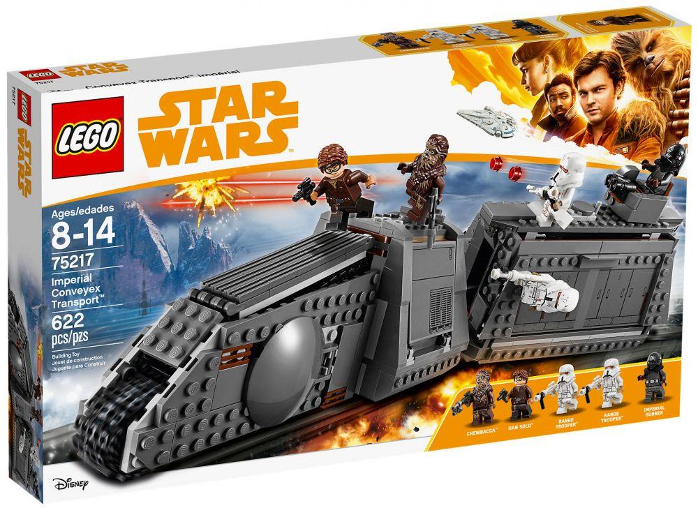 lego star wars 75217 pas cher v hicule imp rial conveyex transport. Black Bedroom Furniture Sets. Home Design Ideas