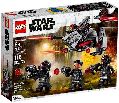 LEGO Star Wars 75226 Pack de combat de l'Escouade Inferno