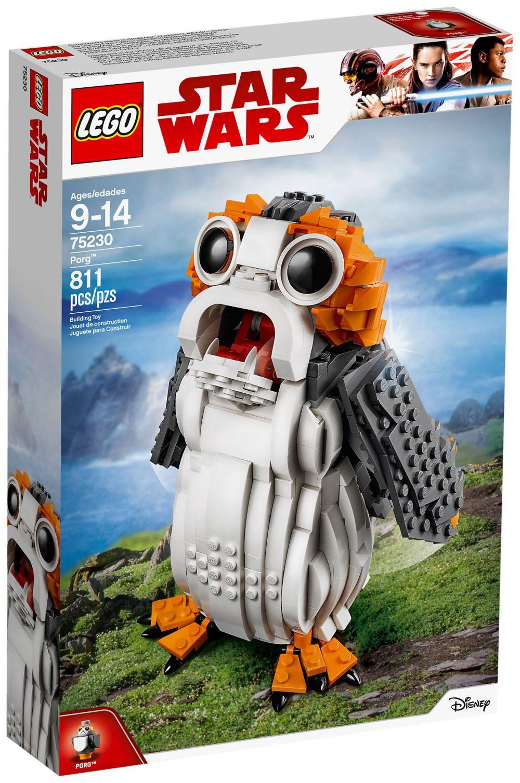 Lego star wars 75230 pas cher porg - Croiseur interstellaire star wars lego ...