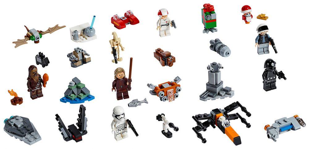 Calendrier De L Avent Lego City 2020.Lego Star Wars 75245 Calendrier De L Avent Lego Star Wars 2019