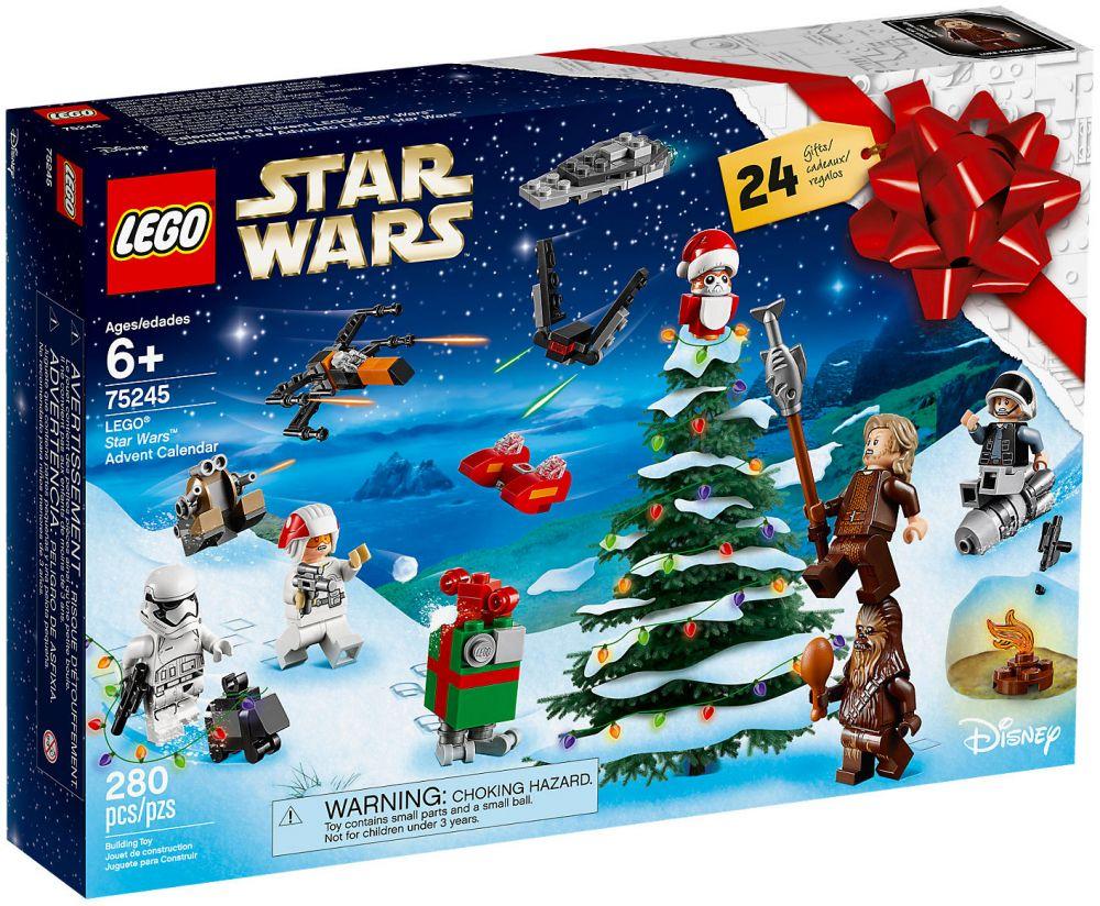 Calendrier De Lavent Pat Patrouille 2019.Lego Star Wars 75245 Calendrier De L Avent Lego Star Wars 2019