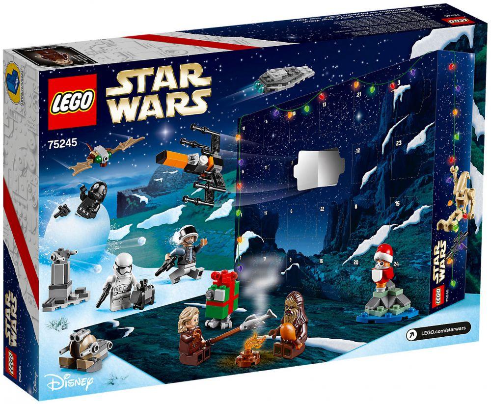 Calendrier De L Avent Lego Star Wars Carrefour.Lego Star Wars 75245 Calendrier De L Avent Lego Star Wars 2019
