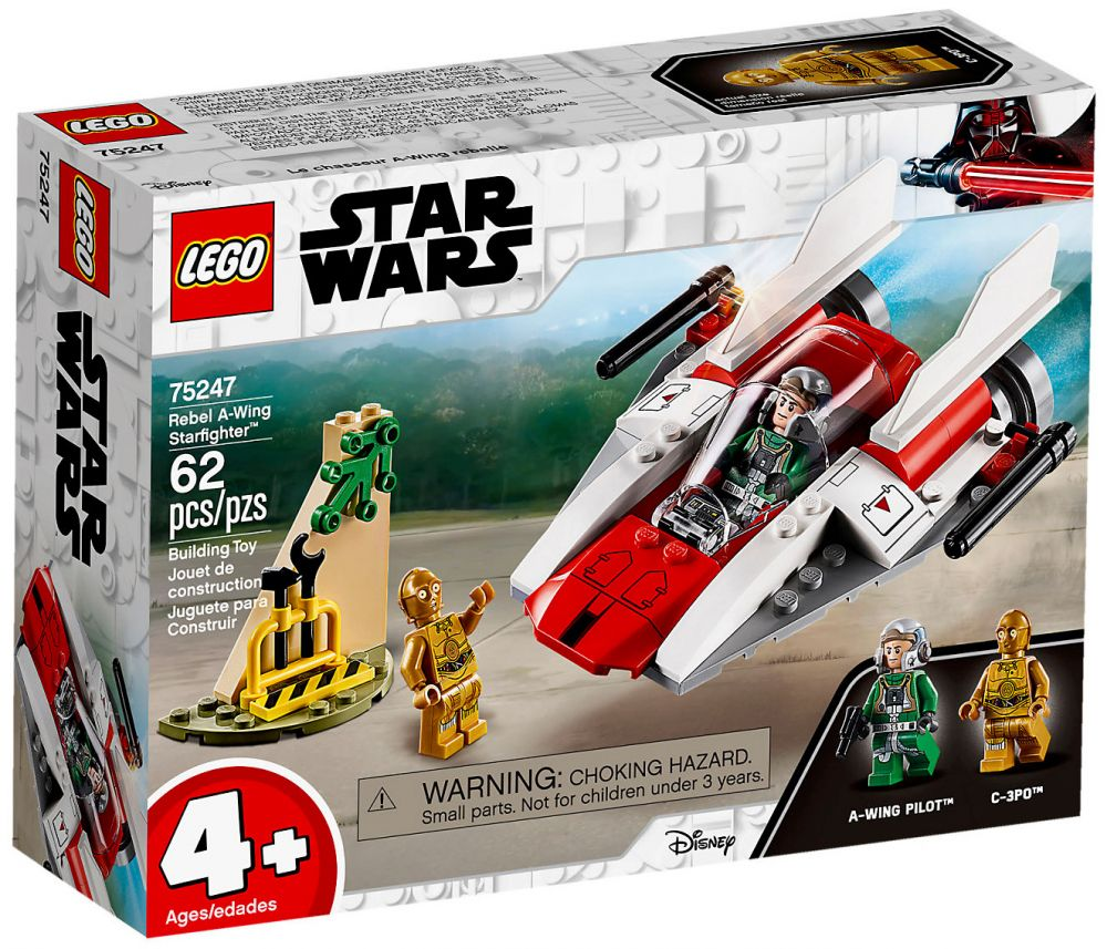 A Wing 75247 Star Chasseur Lego Wars Rebelle Stellaire IgymfYv6b7