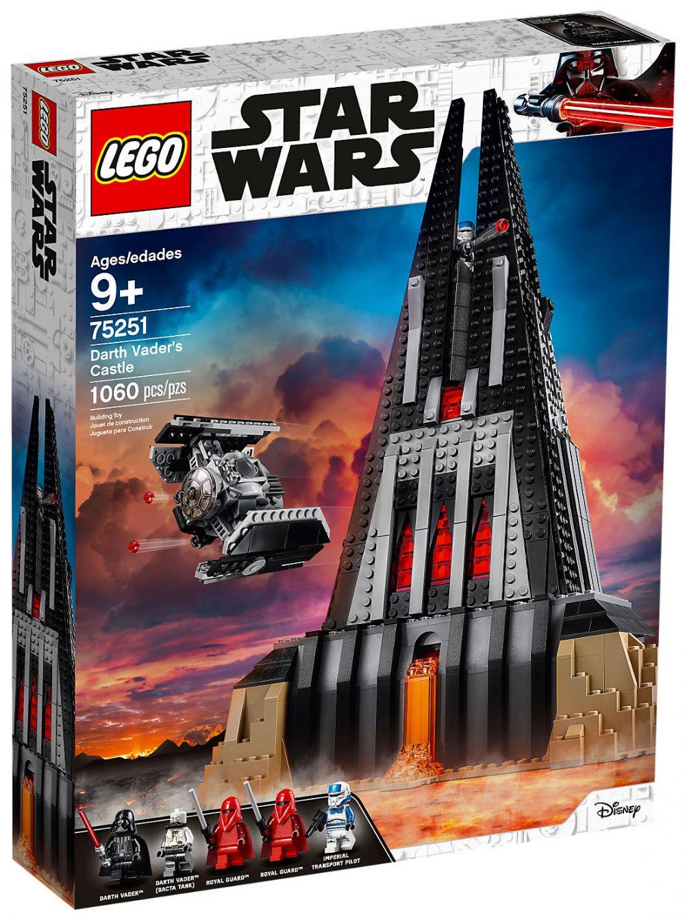Lego star wars 75251 pas cher le ch teau de dark vador - Lego star wars avec dark vador ...