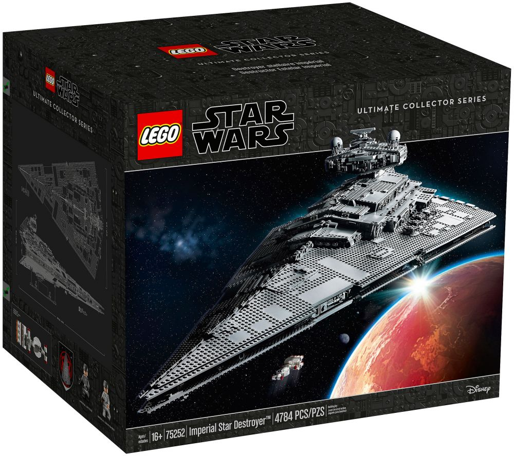 LEGO Star Wars 75252 Pas Cher, Imperial Star Destroyer UCS