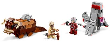 LEGO Star Wars 75265 Le combat des Microfighters : T-16 Skyhopper contre Bantha