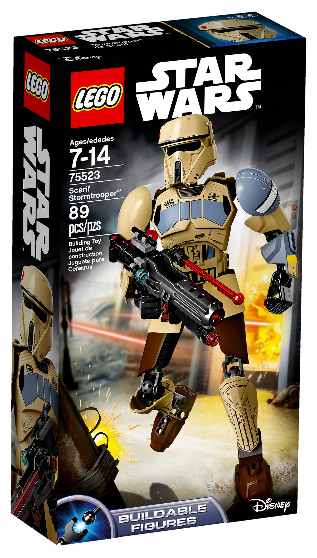 lego star wars 75523 pas cher scarif stormtrooper. Black Bedroom Furniture Sets. Home Design Ideas