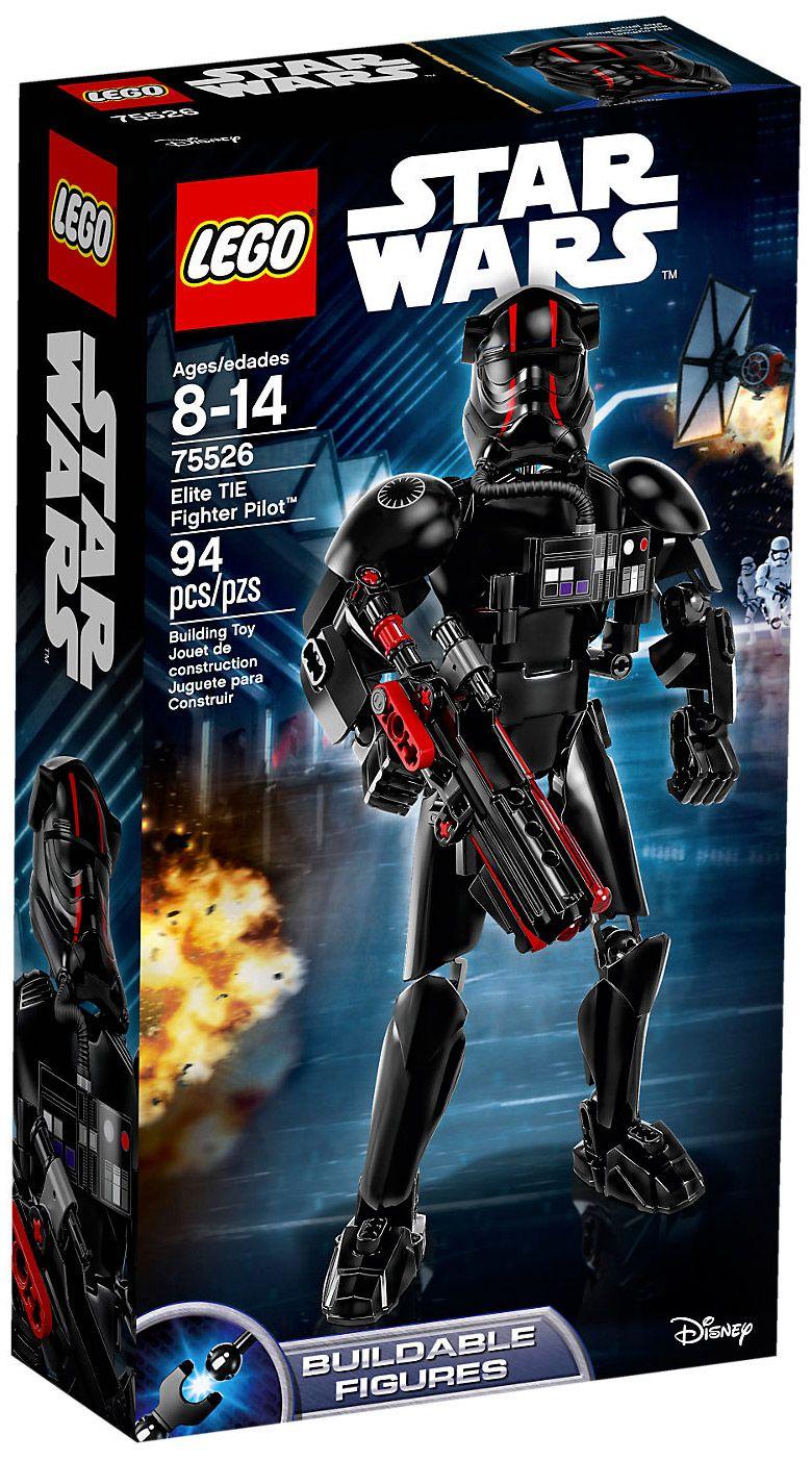 Wars Lego Star Fighter Elite 75526 Tie Pilot 0XNnOkwZ8P