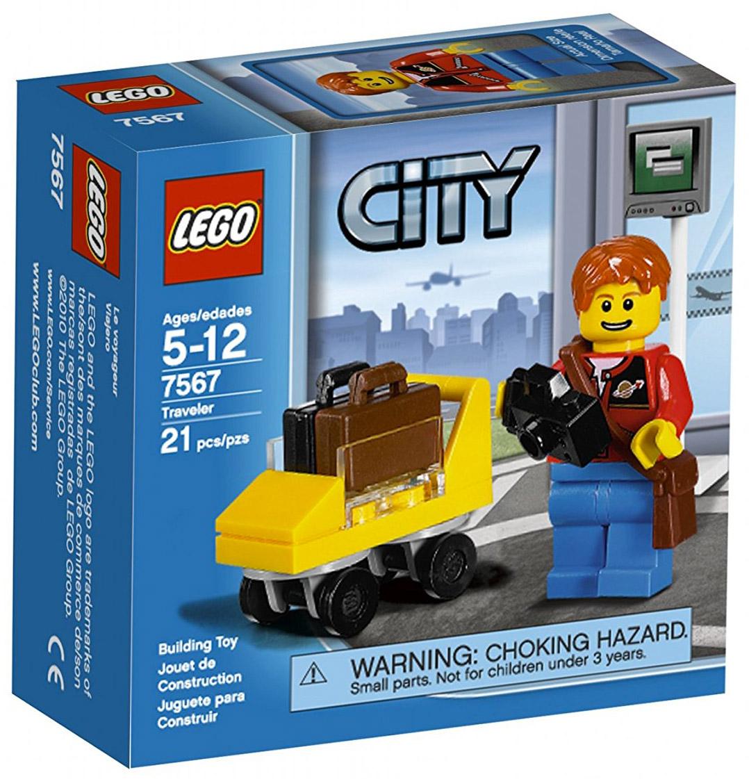 lego city 7567 pas cher le voyageur. Black Bedroom Furniture Sets. Home Design Ideas