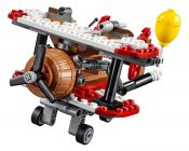 LEGO Angry Birds 75822 L'attaque en avion du cochon