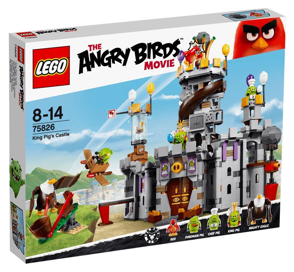 Lego angry birds 75826 pas cher le ch teau du roi cochon for Playmobil 4865 prix