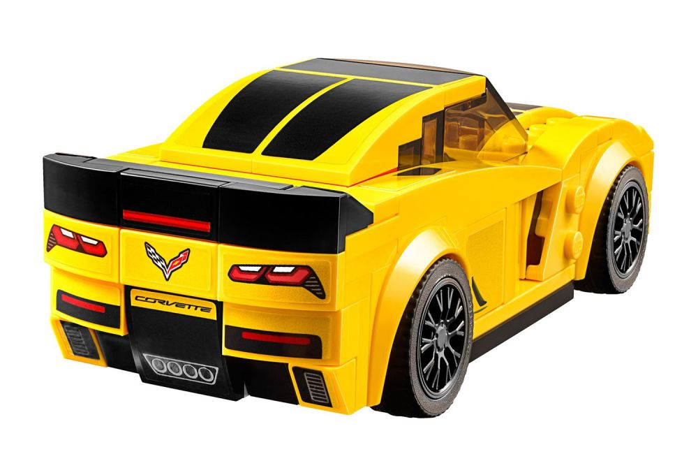 lego speed champions 75870 pas cher chevrolet corvette z06. Black Bedroom Furniture Sets. Home Design Ideas
