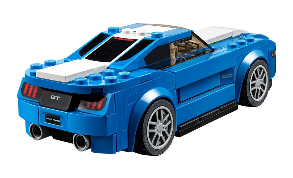 lego speed champions 75871 pas cher ford mustang gt. Black Bedroom Furniture Sets. Home Design Ideas