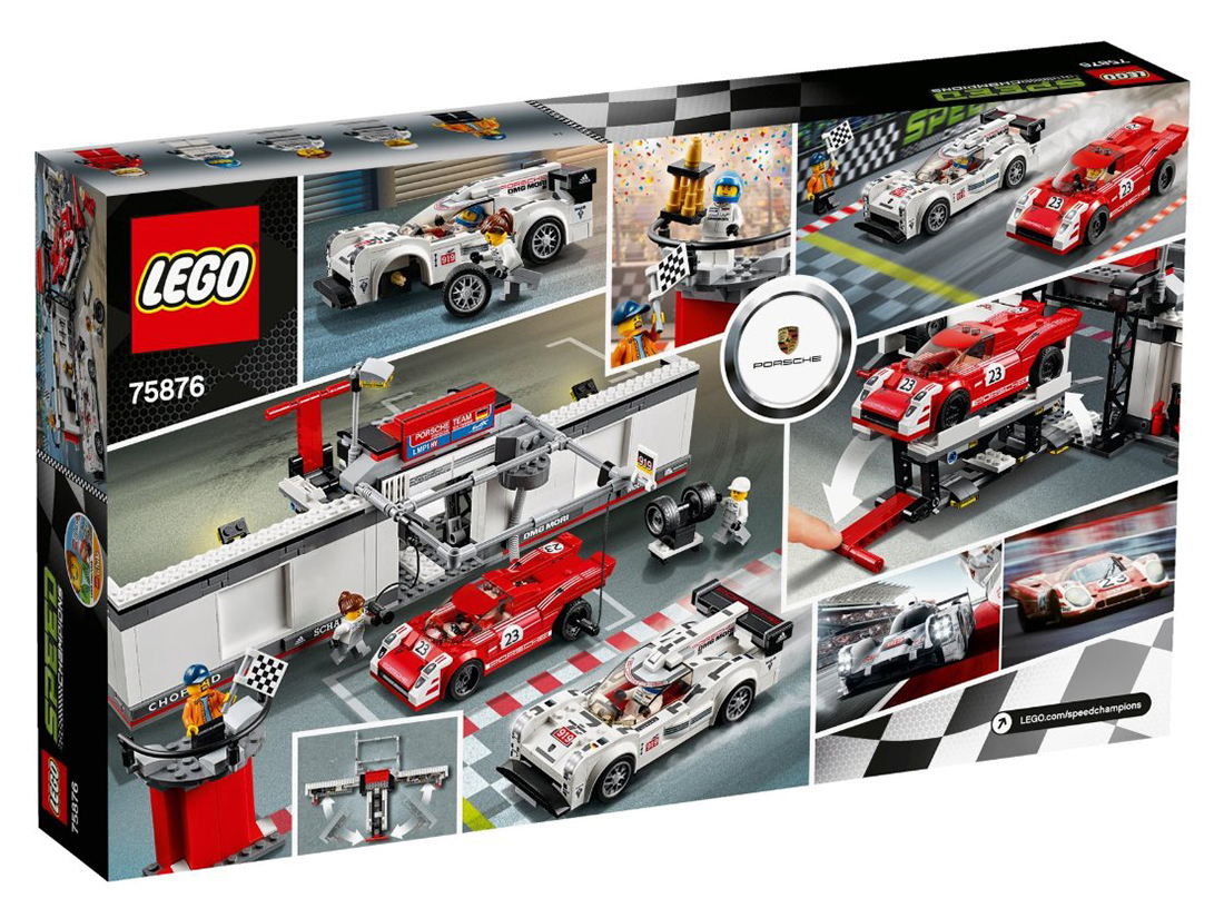 lego speed champions 75876 pas cher. Black Bedroom Furniture Sets. Home Design Ideas