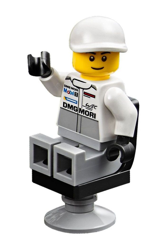 lego speed champions 75876 pas cher le poste de ravitaillement des porsche 919 hybride et 917k. Black Bedroom Furniture Sets. Home Design Ideas