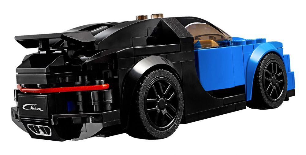 lego speed champions 75878 pas cher bugatti chiron. Black Bedroom Furniture Sets. Home Design Ideas