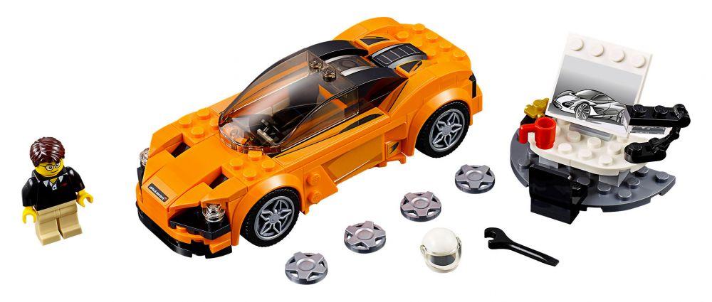 lego speed champions 75880 pas cher mclaren 720s. Black Bedroom Furniture Sets. Home Design Ideas