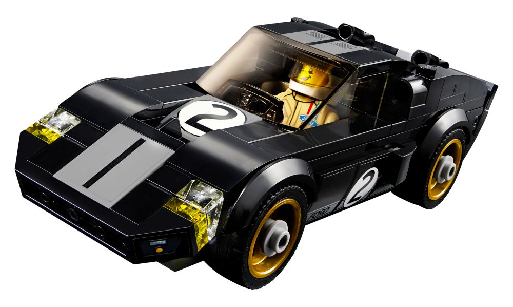 lego speed champions 75881 pas cher 2016 ford gt 1966 ford gt40. Black Bedroom Furniture Sets. Home Design Ideas