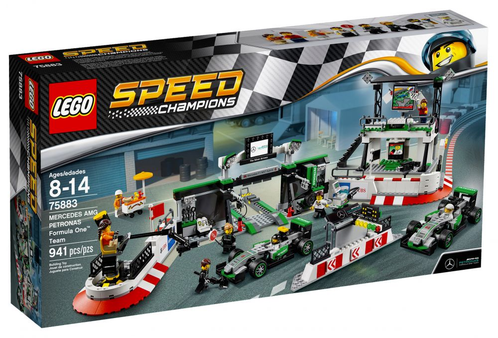Lego Speed Champions 75883 Pas Cher Mercedes Amg