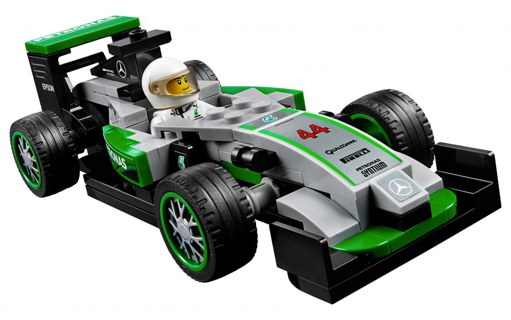 lego speed champions 75883 pas cher mercedes amg petronas formula one team. Black Bedroom Furniture Sets. Home Design Ideas