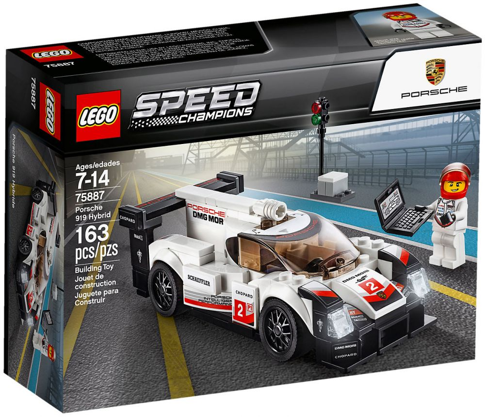 lego speed champions 75887 pas cher porsche 919 hybrid. Black Bedroom Furniture Sets. Home Design Ideas