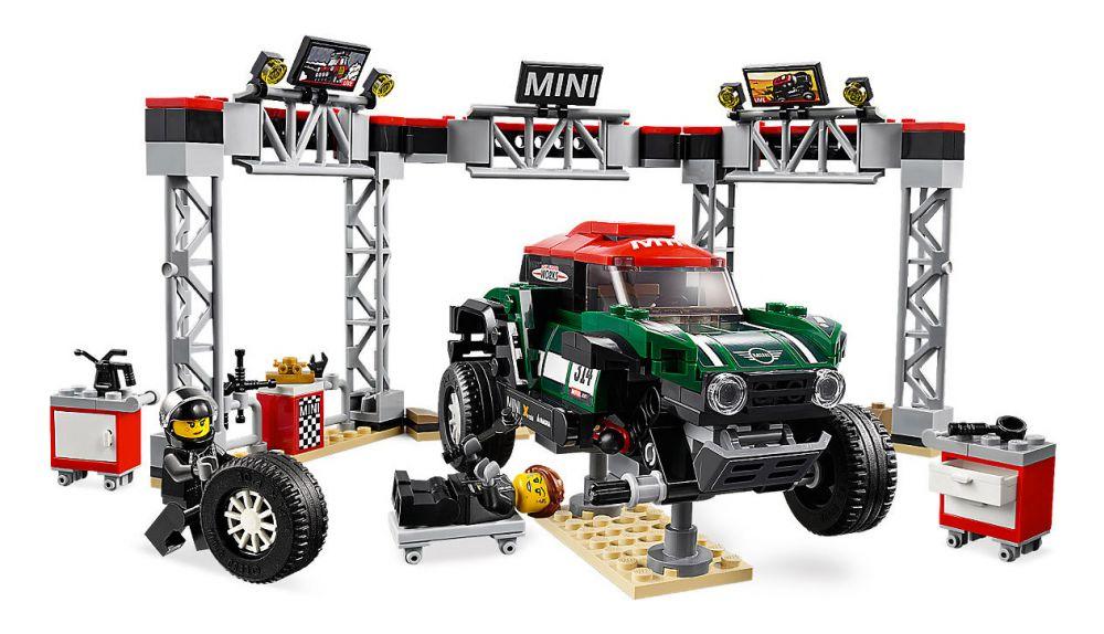 lego speed champions 75894 pas cher mini cooper s rally 1967 et mini john cooper works buggy 2018. Black Bedroom Furniture Sets. Home Design Ideas