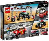 LEGO Speed Champions 75894 Mini Cooper S Rally 1967 et Mini John Cooper Works Buggy 2018