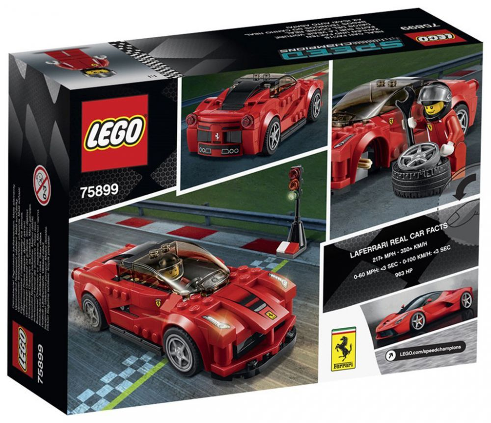 lego speed champions 75899 pas cher la ferrari. Black Bedroom Furniture Sets. Home Design Ideas