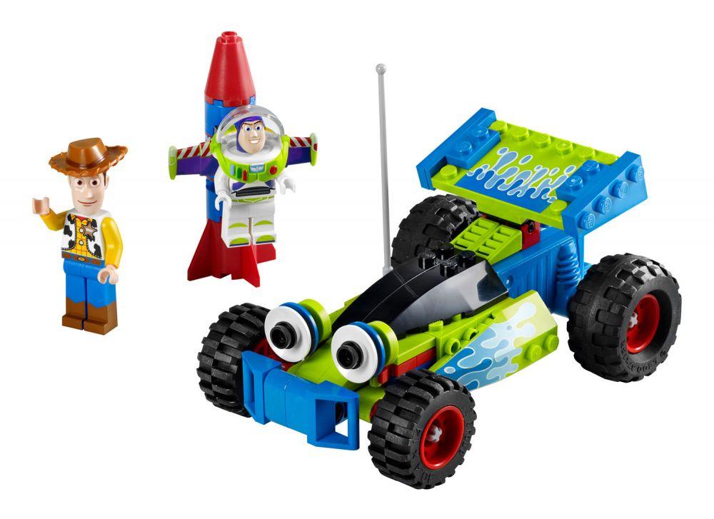 Lego Toy 3 : Lego toy story pas cher la course en voiture de
