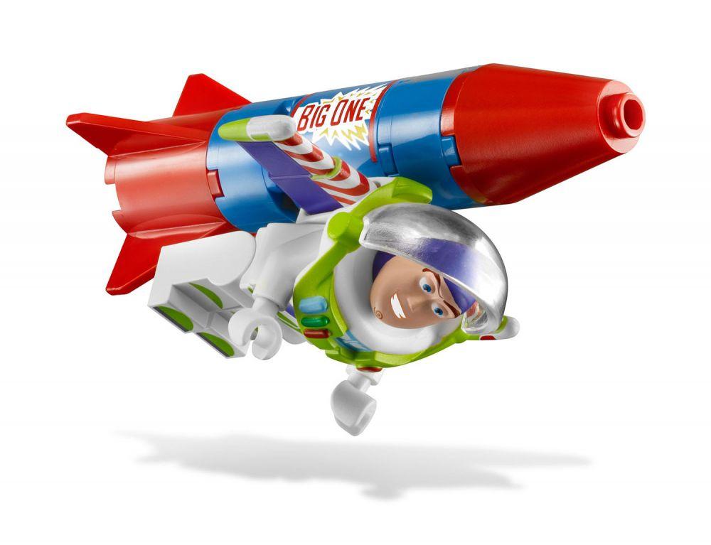Woody De Story Voiture Buzz Lego 7590 La En Toy Et Course rexBCQdoW