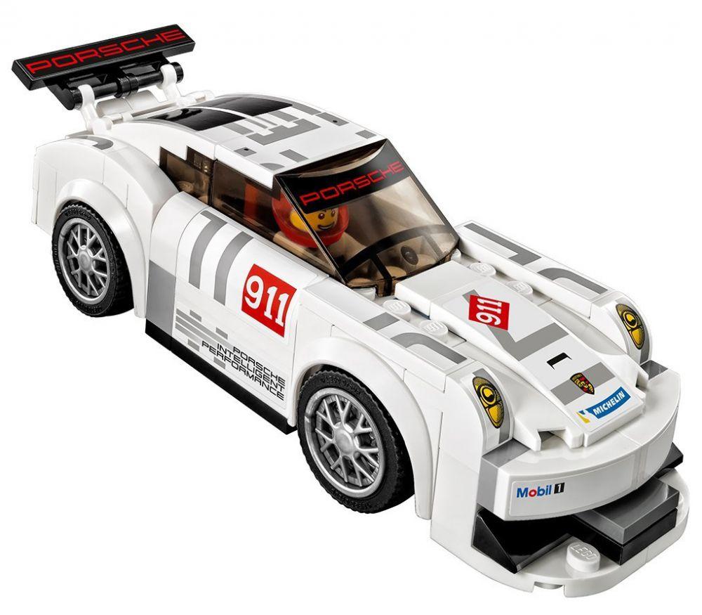 lego speed champions 75912 pas cher porsche 911 gt finish line. Black Bedroom Furniture Sets. Home Design Ideas