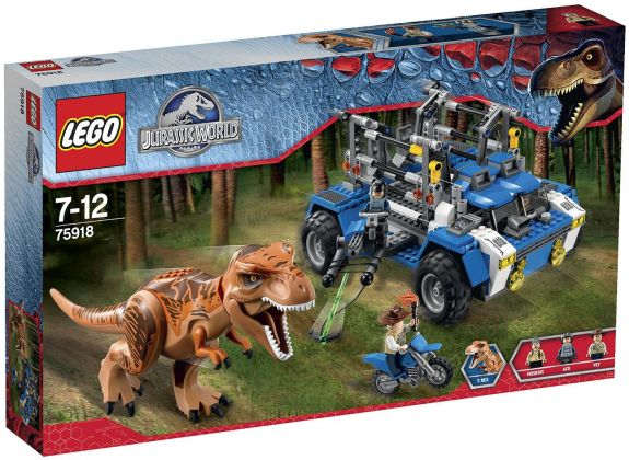 LEGO Jurassic World 75918 La poursuite du T-rex