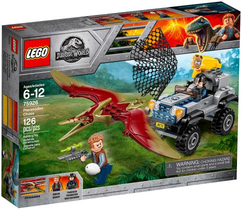 LEGO Jurassic World 75926 La course-poursuite du Ptéranodon