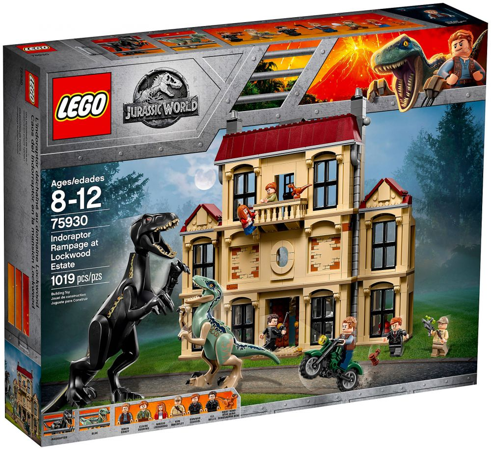 Jurassic Fureur À Indoraptor Lockwood 75930 World Lego La Estate De QsdhrCtxB