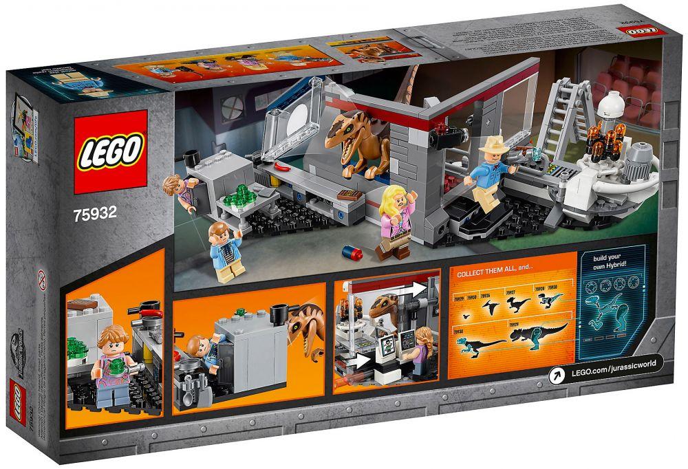 LEGO Jurassic World 75932 La Poursuite Du Vélociraptor   Jurassic Park ...