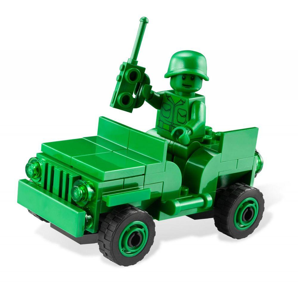 Lego toy story 7595 pas cher les petits soldats en - Le cochon de toy story ...