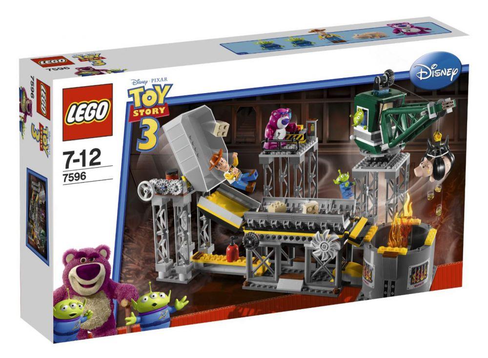 Lego Toy 3 : Lego toy story pas cher l usine de destruction des