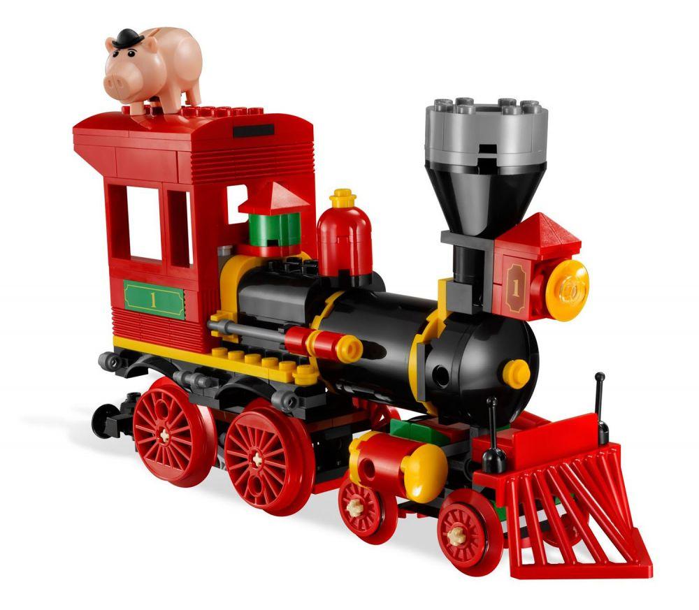 Lego toy story 7597 pas cher course poursuite dans le - Le cochon de toy story ...